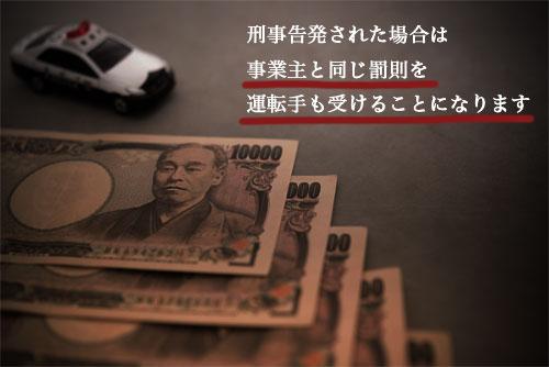 特殊車両の通行許可に関する違反の規定