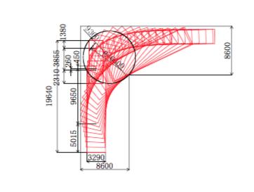 特車で提出する軌跡図
